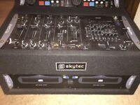 Skytec TEC2420 mixer case kit