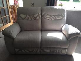 2 x Large 2 seater sofas