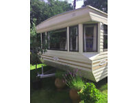 Comfortable Willerby Granada, 3 bedroom caravan (35x12ft)