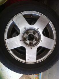 VW Golf Alloys + Tyres
