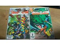 36 DC COMICS. Superman/the flash/nightwing/green lantern.