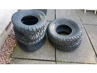 Yamaha raptor new road legal tyres