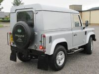 LAND ROVER DEFENDER 90 DIESEL 2.4 COUNTY PACK 2009 LOW MILES 45K FSH ONE PREVIOUS OWNER PX WELCOME
