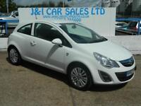 VAUXHALL CORSA 1.2 ENERGY AC 3d 83 BHP A GREAT EXAMPLE INSIDE AND (white) 2013