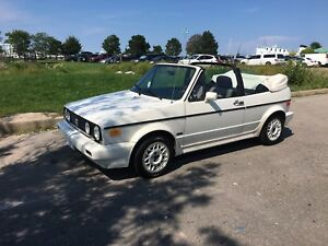 1989 VW Cabriolet Golf Convertible