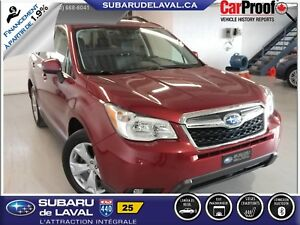2014 Subaru Forester 2.5X Limited EyeSight *Cuir et Navigation*