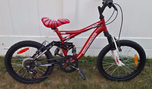 Supercycle Child's Bike with front and rear suspension