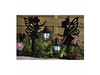 2 fairies with solar lanterns