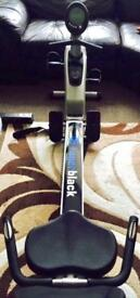 Exercise rowing bike