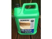 Ronseal Decking Cleaner& reviver NEW 5 litres