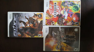 WII GAMES ACTION PACK