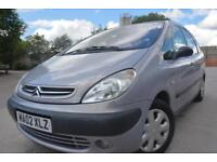 CITROEN XSARA PICASSO SX 1.6 5 DOOR MPV*APRIL 2018 MOT*TWO OWNERS FROM NEW*