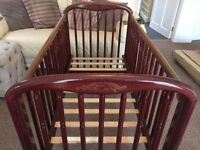 Cosatto Cot Bed - solid wood
