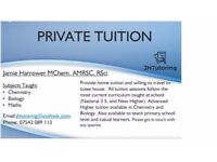 Maths, Chemistry and Biology Private Tuition