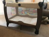 Graco travel cot bed boys or girls sleeping
