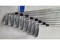 Mizuno MP-52 Gent Steel Irons Dynamic Gold S300 Set of 8 Shaft Brand New