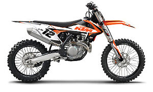 2016 KTM SXF N Style Amped Decal Kit