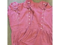 Girls School Dresses X 3 from M & S age 9-10