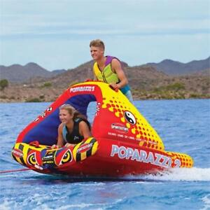 BOAT TUBES: AIRHEAD POPARAZZI 2 (1-2 RIDERS) *MANAGER'S PICK*