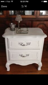 Pretty French provincial night stand~