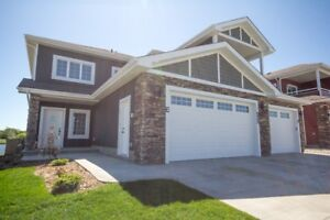 newer house, Dbl garage, lakeview, yard in Morinville