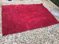 Red Next Rug rug 160x230