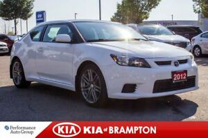 2012 Scion tC Base|ROOF|KEYLESS|BLUETOOTH|CRUISE CTRL|ALLOYS