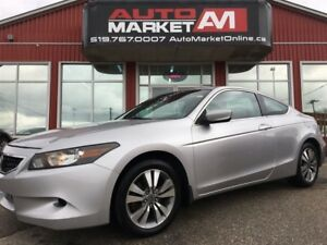 2009 Honda Accord EX-L, LEATHER, ALLOYS
