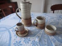 Broadstairs Pottery coffee set
