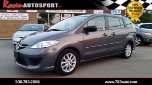 CERTIFIED 2009 Mazda5 - LOW KMS - 6 SEATER - YORKTON