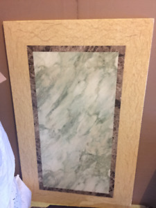 Marble dining table part