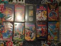 Walt Disney VHS video bundle x10