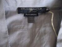 Pyjamas, PJ's, NEW with TAGS, XXL Men's Quality Stripy (Blue & White) - RETRO Style