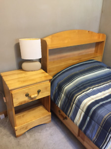 Single (Twin) 3-piece bedroom set