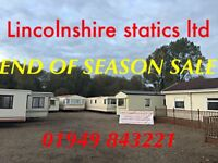 Offsite static caravan ~ free UK delivery ~ prices from only £2,000
