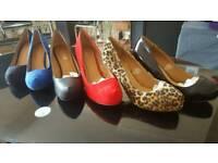 Ladies Low Heel Court brand new
