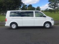 minibus hire with driver, 8 seaters, airport transfer, golf trips, tours,