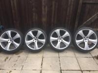 "Genuine 22"" rsc alloy wheels"
