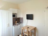 Studio flat to rent, Merrylee, with all bills included.