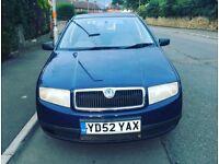 Skoda fabia 1.4 10 month mot 12 month tax Reliable car £300