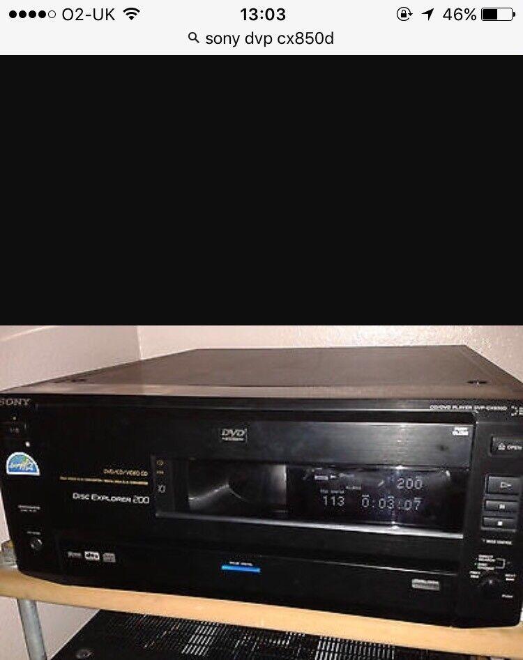 Sony 200 Disc DVD Player Changer