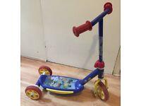Boys Jake & the Neverland Pirates 3 wheeled Scooter
