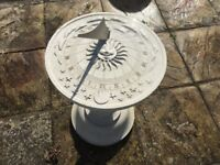 Garden sundial new lovely garden feature