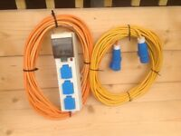 Electric Hook Up Leads