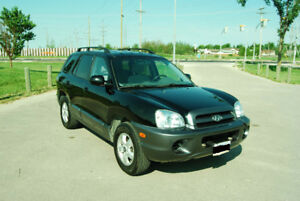 2005 Hyundai Santa Fe SUV, Crossover FWD passed safety V6