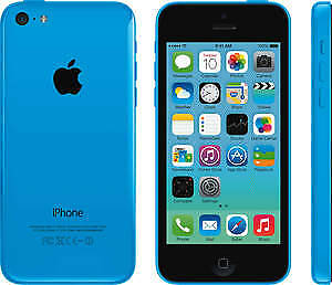 iphone 5c blue with new screen to sell or trade