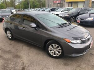 2012 Honda Civic LX/AUTO/LOADED/CLEAN CAR PROOF