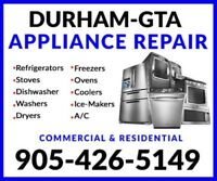 TOP APPLIANCE REPAIRS & AIR- CONDITIONING 416-500-5150