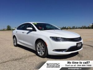 2016 Chrysler 200 Limited w/Heated Seats  8.4 inch screen *DEMO*