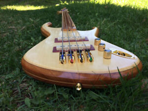 Basse Fretless Custom Built